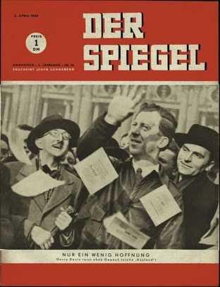 Presse deutsch ab 1948 historische for Der spiegel deutsche ausgabe